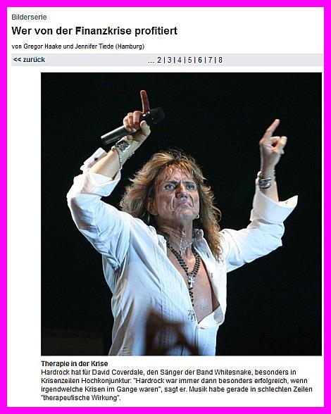 Financial Times Deutschland - Rock gewinnt in der Krise!